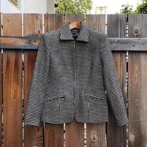 Ralph Lauren Equestrian Houndstooth Wool Jacket 6